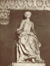 La statue d'Elena Lucrezia Cornaro Piscopia, à l'université de Padoue